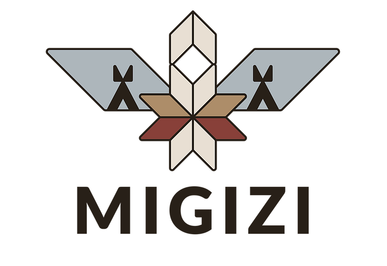 This image has an empty alt attribute; its file name is Migizi-Logo.png